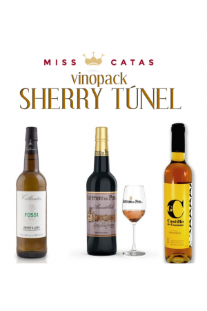 VINO PACK SHERRY TÚNEL MISS CATAS