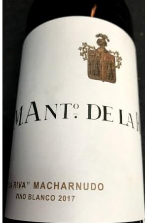 La Riva Macharnudo Blanco 2017. M. Ant. De La Riva