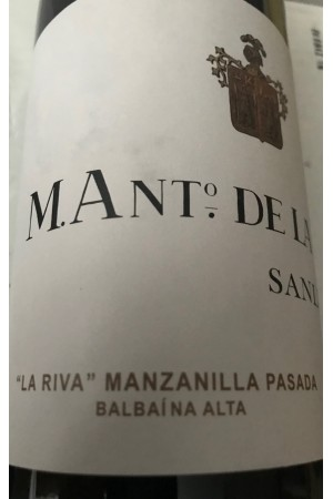 La Riva Manzanilla Pasada Balbaína Alta M. Ant. De La Riva