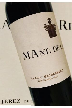 La Riva Macharnudo Blanco 2018. M. Ant. De La Riva