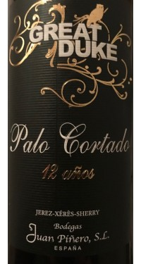 Palo Cortado Great Duke Piñero